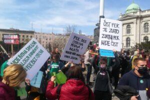 ekološki ustanak prostest bg