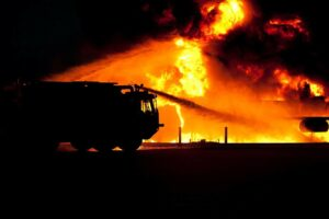 požar vatrogasno vozilo