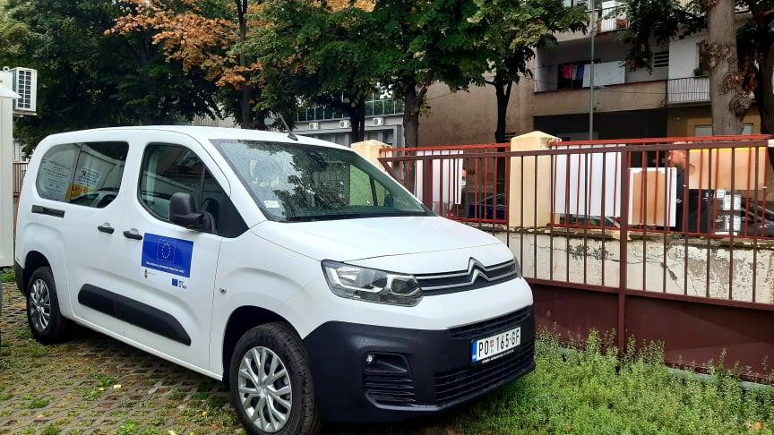vozilo za prevoz vakcina