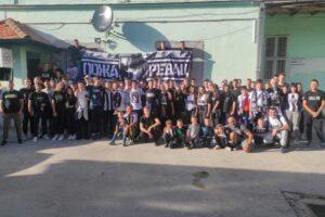 učenici u Beogradu utakmica