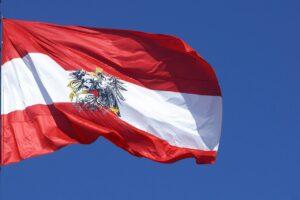 Austrija zastava