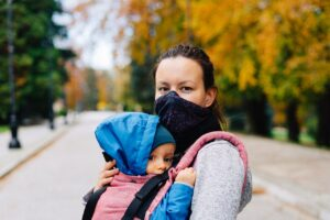 žena i dete pandemija